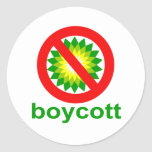 Boycott BP Stickers