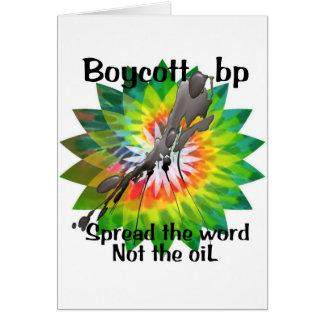 Boycott bp t shirt tie dye spread the word 2 card