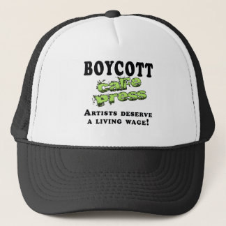 Boycott Cafepress Trucker Hat