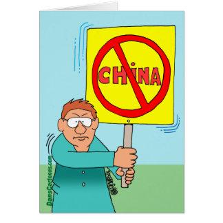 BOYCOTT CHINA CARD
