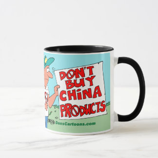 BOYCOTT CHINA MADE PRODUCTS MUG