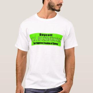 Boycott Companies that Suppress Freedom of Speech T-Shirt