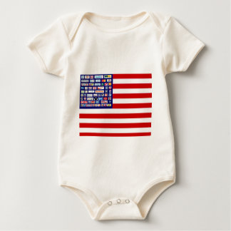 Boycott Corporate america Baby Bodysuit
