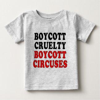 Boycott cruelty. Boycott circuses. Baby T-Shirt