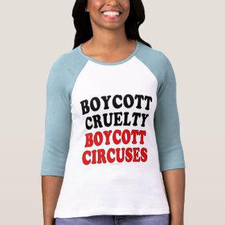 Boycott cruelty. Boycott circuses. T-Shirt