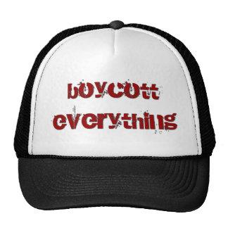 Boycott Everything Trucker Hat