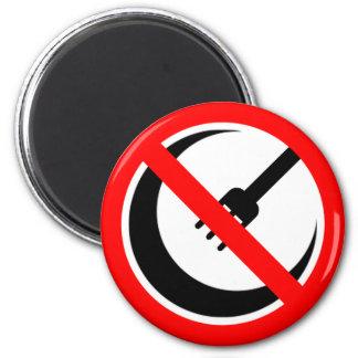 Boycott Halal Restaurants and Grocers Refrigerator Magnets