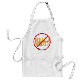 Boycott Hollywood Adult Apron