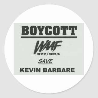 boycott.jpg round stickers