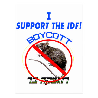 Boycott Rogatka Bar Postcard