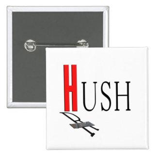 Boycott Rush Limbaugh Duct Tape Square Button