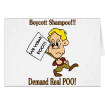 Boycott Shampoo - Demand Real POO