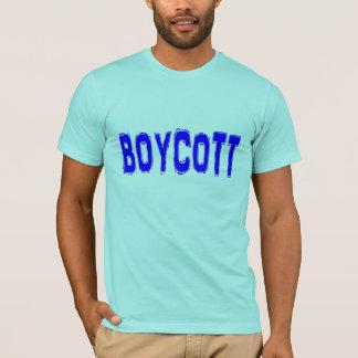 Boycott. T-Shirt