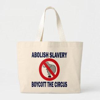 BOYCOTT THE CIRCUS CANVAS BAG