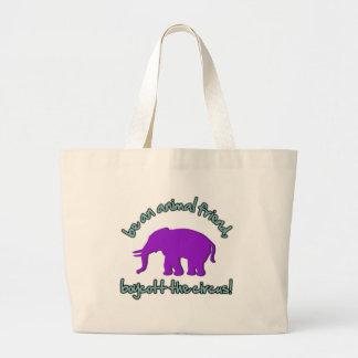boycott the circus tote bag