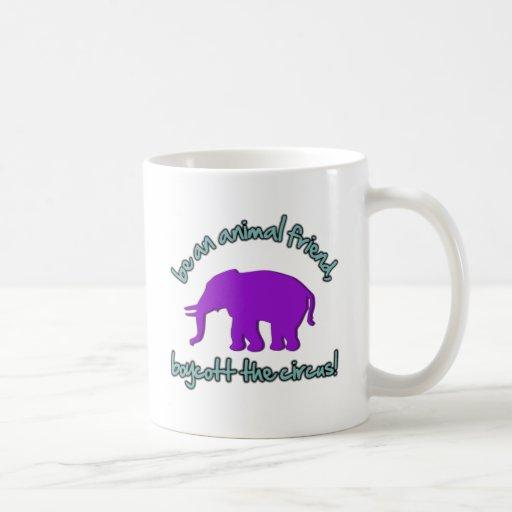 boycott the circus coffee mug