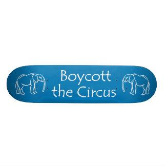 Boycott the Circus Skateboard Deck