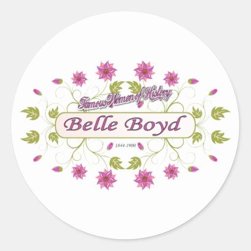 Boyd ~ Belle Boyd ~ Famous American Women Sticker