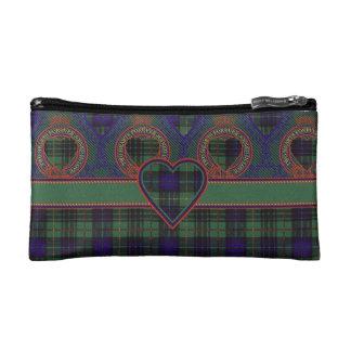 Boyd clan Plaid Scottish kilt tartan Makeup Bags