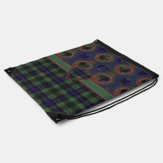 Boyd clan Plaid Scottish kilt tartan Drawstring Backpack