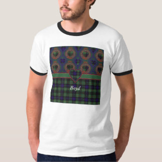 Boyd clan Plaid Scottish kilt tartan T-Shirt