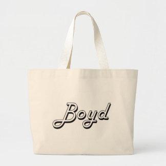 Boyd Classic Retro Name Design Jumbo Tote Bag