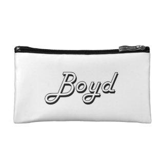 Boyd Classic Retro Name Design Makeup Bag