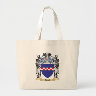 Boyd Coat of Arms - Family Crest Jumbo Tote Bag