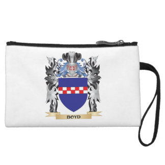 Boyd Coat of Arms - Family Crest Wristlet Clutch