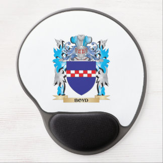 Boyd Coat of Arms Gel Mouse Mats