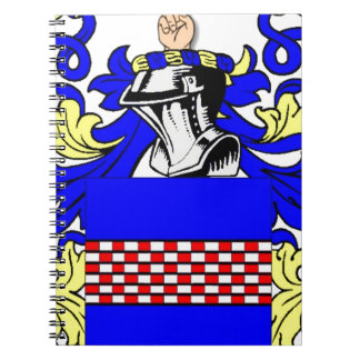 Boyd (English) Coat of Arms Spiral Notebook
