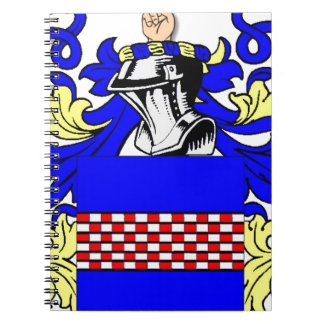 Boyd (English) Coat of Arms Spiral Note Books