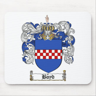 BOYD FAMILY CREST -  BOYD COAT OF ARMS MOUSE MATS