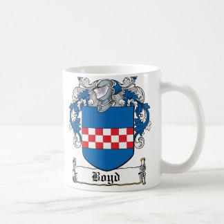 Boyd Family Crest Classic White Coffee Mug