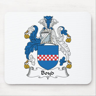 Boyd Family Crest Mouse Pads