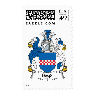 Boyd Family Crest Postage Stamps