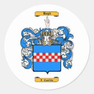 Boyd (Scottish) Classic Round Sticker