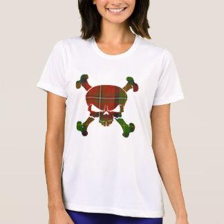 Boyd Tartan Skull No Banner Tee Shirt