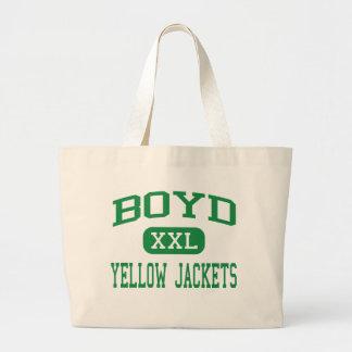 Boyd - Yellow Jackets - Junior - Boyd Texas Jumbo Tote Bag