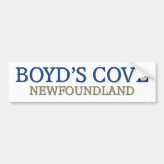 Boyd's Cove newfoundland Bumper Sticker
