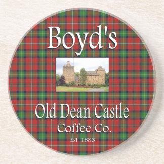Boyd's Old Dean Castle Coffee Co. Coaster
