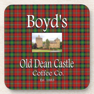 Boyd's Old Dean Castle Coffee Co. Coaster Set