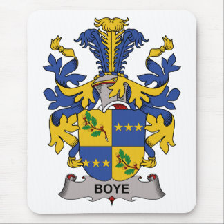 Boye Family Crest Mouse Pad