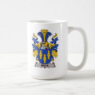 Boye Family Crest Classic White Coffee Mug