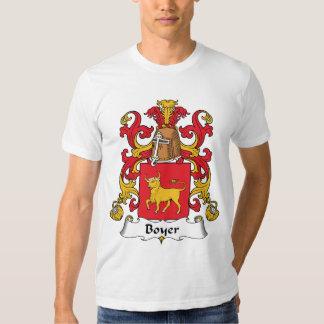 Boyer Family Crest T Shirt