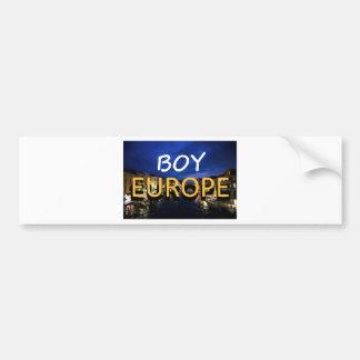 boyeurope pegatina de parachoque