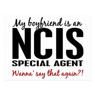 Boyfriend An NCIS Agent 1 Postcard