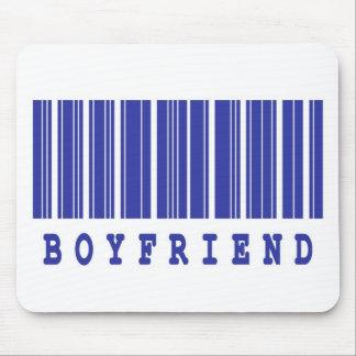 boyfriend barcode design mouse pad