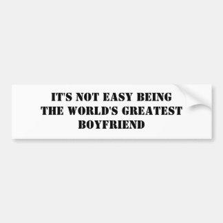Boyfriend Bumper Sticker