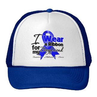 Boyfriend - Colon Cancer Ribbon Mesh Hats